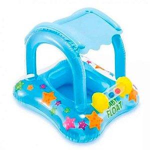 Boia Infantil com Cobertura Baby Float  até 15kg 56581 Intex