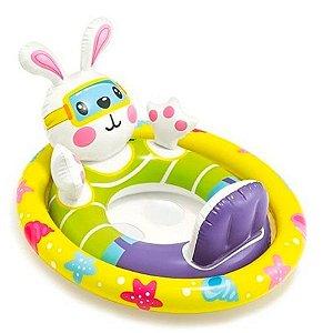 Boia Coelhinho Infantil Baby Bote Kiddie Intex 59570