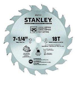 Disco Serra Circular 7-1/4 Madeira 18 Dentes STA7717 Stanley