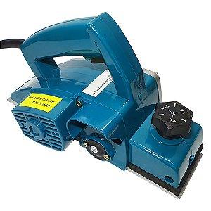 Plaina Elétrica 750W Profissional 82mm Azul SA Tools