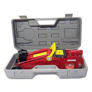 Macaco Hidráulico Jacaré 1.8 Ton. com Maleta SA003 SA Tools