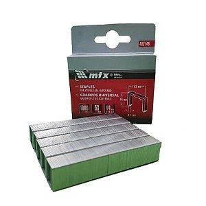 Grampo Grampeador Tapeceiro 14mm 1000 peças MTX 411249