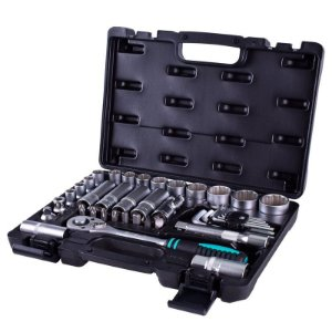 Kit Chave Catraca Soquete 1/2 10 a 32mm 41Peças 135799 Stels