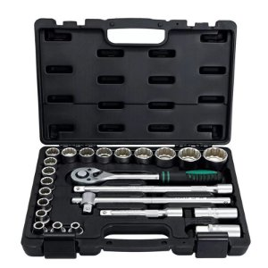 Kit Chave Catraca Soquetes 1/2 8 a 32mm 24 Pçs 135769 Stels