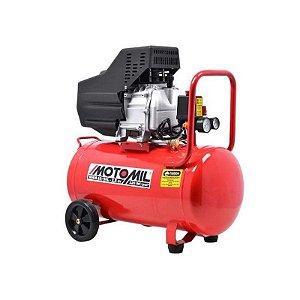 Compressor de Ar 8,8 Pés 2,5 HP Motomil MAM10/50L- Bivolt