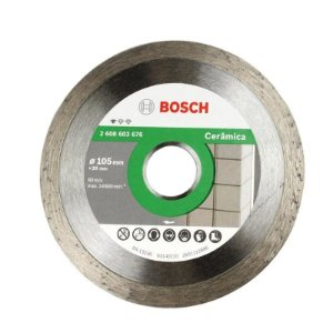 Disco Diamantado Cerâmica Liso 105mm Bosch 2608603676