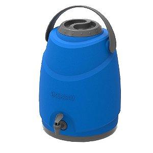 Botijão Térmico Estacionário Aspen 12L Azul Soprano