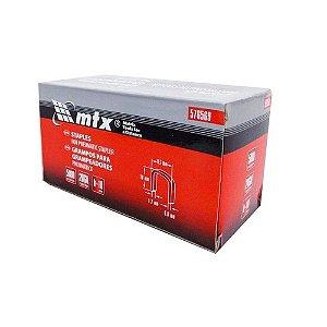 Grampo para grampeador pneumático 10mm 5000 Unid 576569 MTX