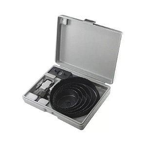 Jogo Serra Copo P/ Madeira Kit 64 a127mm 8 Peças MTX 7047159