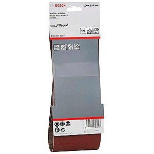 Lixa de cinta 100x610 para Lixadeira Makita 260860726 Bosch