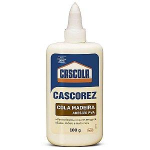 Cola para Madeira 100g Cascola Cascorez Adesivo à base PVA