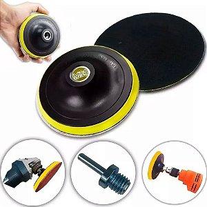 Suporte de Boina com Velcro 125mm para Furadeira  MTX-762209
