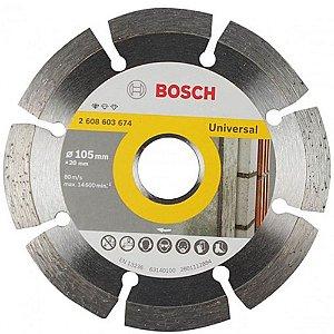 Disco Diamantado Segmentado Univesal 105mm  BOSCH-2608603674