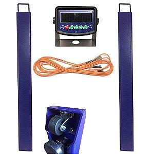 Balança de Gado Barras p/Pesagem 2T Display Led Sa tool 318L