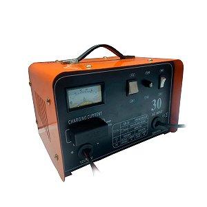Carregador de Bateria Automotivo 12v/24v Profissional Cb-30
