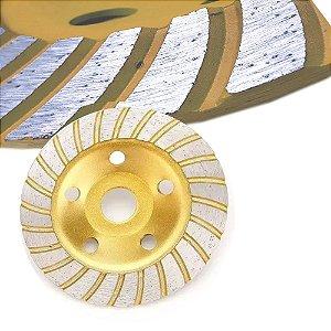 Disco Desbaste Diamantado p/Concreto Mármore 100mm Sa Tools