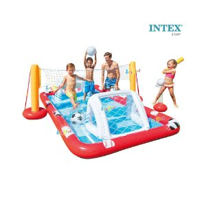 Piscina Playground Multi Sports Infantil Inflável Intex57147