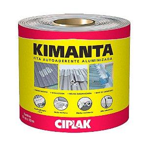 Manta/Fita  Autoaderente Autoadesiva Alumínio Kimanta 10mts