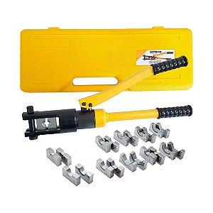 Alicate Prensa Terminal Hidraulico Profissional 16a300mm SA