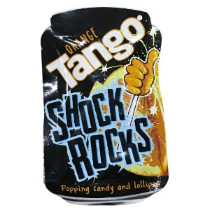 Shock Rocks pirulito de laranja que explode 13g