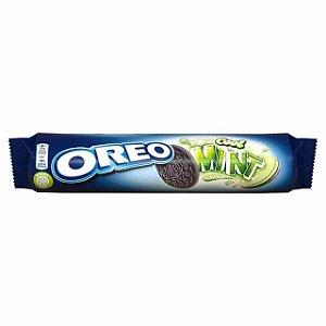 Biscoito Oreo sabor menta 154g