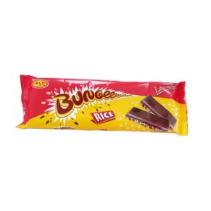 Chocolate importado ao leite com flocos de arroz Bungee White 20g