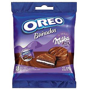 Biscoito Milka Oreo Coberto de Chocolate ao Leite 119g