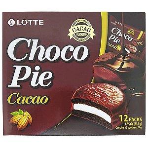 Chocopie Alfajor Cacao Premium com 12 unidades