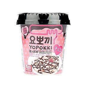 Bolinhos importados de arroz com chocolate 120g Yopokki