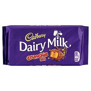 Barra de chocolate crocante importada 200g Cadbury