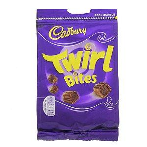 Bombons importados Cadbury de chocolate trufado 109g