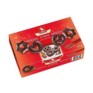 Pães de especiarias import com chocolate amargo 500g