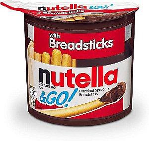 Nutella & Go Creme de Avelã e Palito de Pão 52g