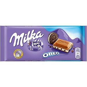 Chocolate ao Leite Milka Oreo 100g