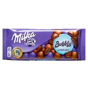 Milka Bubbly Alpine Milk100g