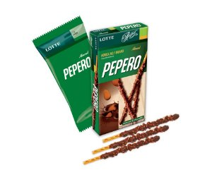 Lotte Pepero Almonds 32g