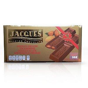 Jacques Chocolate Belgian - Ao Leite c/ Amêndoas