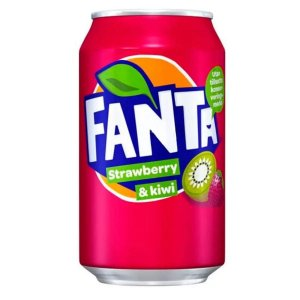 Fanta Strawberry & Kiwi (Morango e Kiwi) 355ml