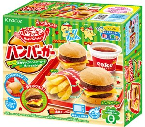Kracie kit para doces Happy Kitchen Hamburguer 22g