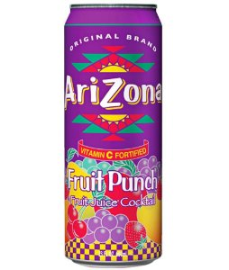 Arizona Fruit Punch suco frutas 340ml