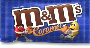 M&M'S Caramel Chocolate e caramelo 40g
