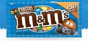 M&M'S Pretzel Chocolate 32.3g