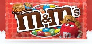M&M'S Peanut Butter Chocolate Manteiga de amendoim 46,2g