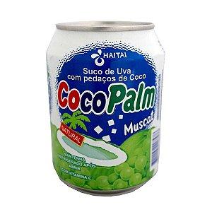 Haitai Coco Palm suco uva com coco 235ml