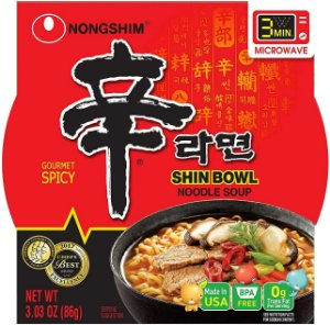 Nongshim Shin Cup Instant Noodle Spicy Big Bowl 86g