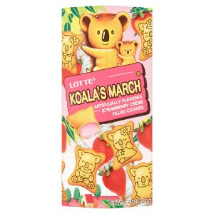Lotte Koala no March Strawberry 37g