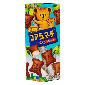 Lotte Koala March Chocolate Branco 37g