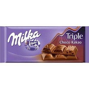 Milka Chocolate Triple Choco 90g