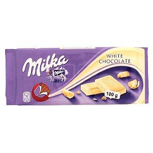 Milka Weisse Schokolade chocolate branco 100g