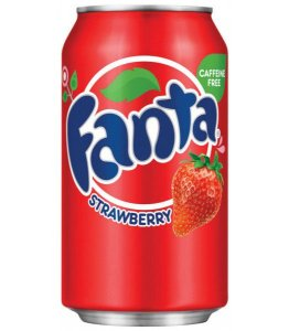 Fanta Strawberry Morango 355ml